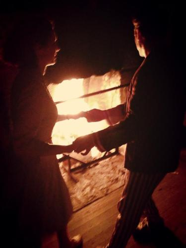 Camp Swing 1 - dancing by fire by Annabelle
