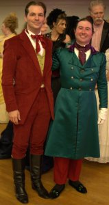 Charles and I at 2014 Christmas Gaskell by Anthony