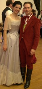 Monica and I at 2014 Christmas Gaskell by Anthony